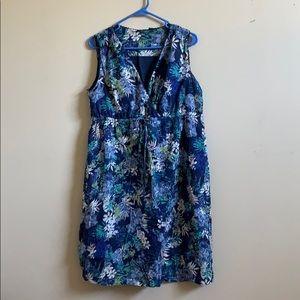 Dress Sleeveless Floral